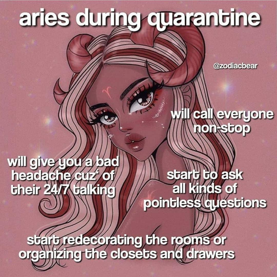 Quarantine time… part 1 .Credits ………..gemini,libra,pisces,ca…