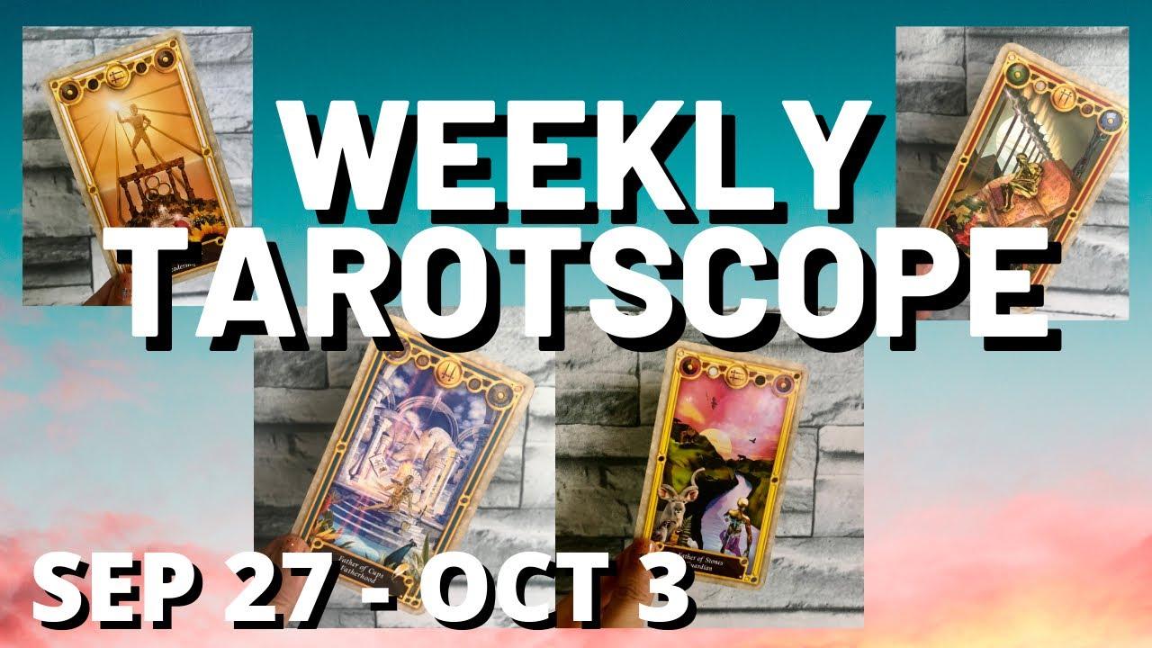 Weekly Tarotscope – Sep27-Oct2 – All Signs – KAPALARAN TAGALOG TAROT READING HOROSCOPE FOR TODAY