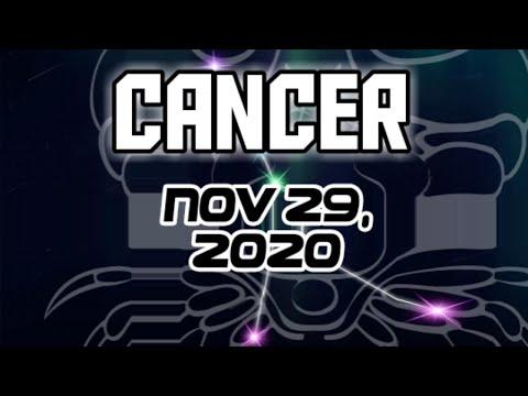 Cancer Zodiac 411 – November 29, 2020 A detailed daily horoscope and tarot card readings for the Cancer Zodiac.